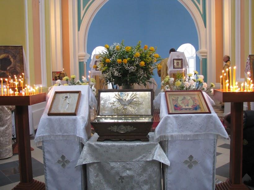 Приезд Ларца с мощами св. Марии Магдалины