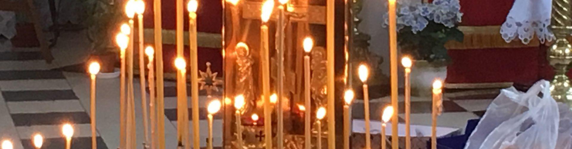 Божественное Богослужение на Радоницу в виленском женском Марие-Магдалининском монастыре