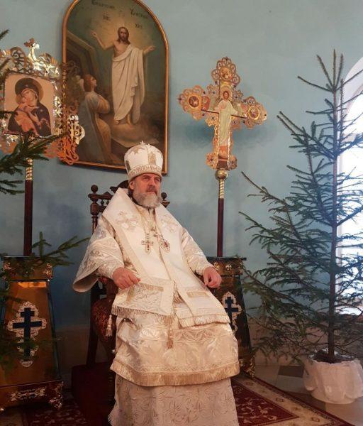 Литургия в Виленском женском Марие-Магдалининском монастыре