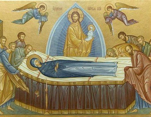 Богородица на смертном одре